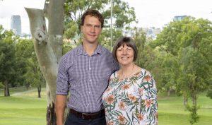 Dr Barrie Field and Professor Marianne Wallis